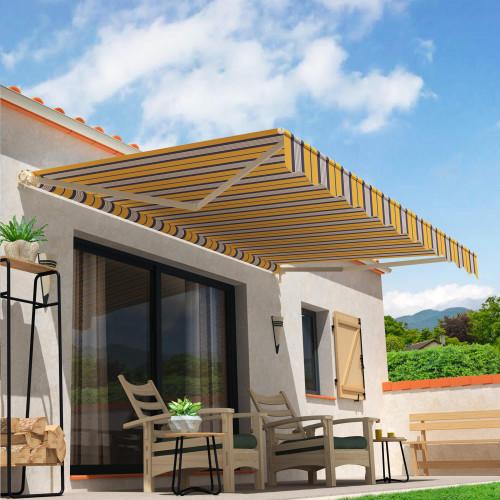 Store Banne Loggia Catalina 4 x 2,5 m Manuel
