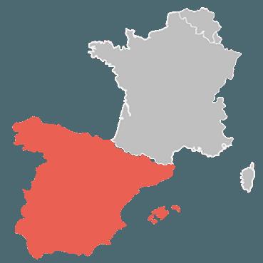 Livraison de votre store banne en Espagne et dans les îles Baléares